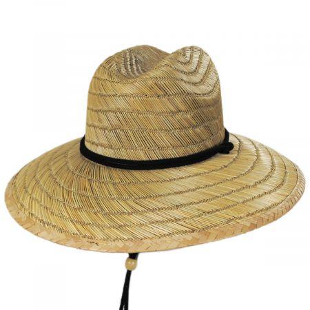 Peter Grimm California Flag Rye Straw Lifeguard Hat