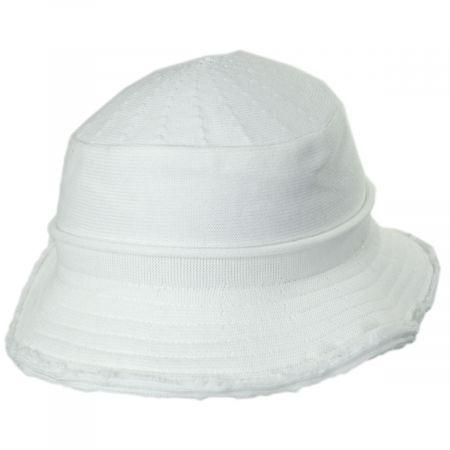 Parkhurst Frayed Edge Cotton Bucket Hat