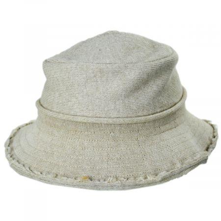 Frayed Edge Cotton Bucket Hat alternate view 5