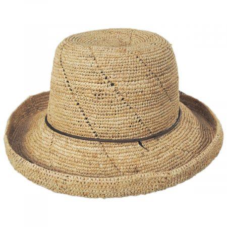 Callanan Hats Lana Crocheted Raffia Straw Sun Hat