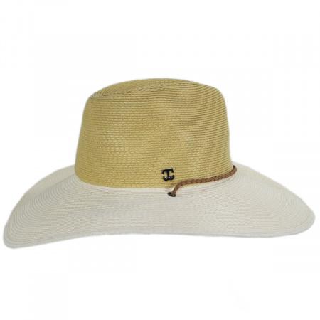 Suze Braided Toyo Straw Aussie Hat