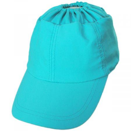 Bowline Ponytail Swimwear Fitted Baseball Cap