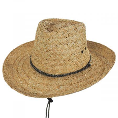 Scala Tacoma Raffia Straw Outback Hat