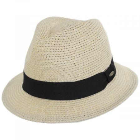 Summerville Polybraid Fedora Hat