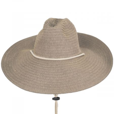 Dorfman Pacific Company Caymen Polybraid Lifeguard Hat