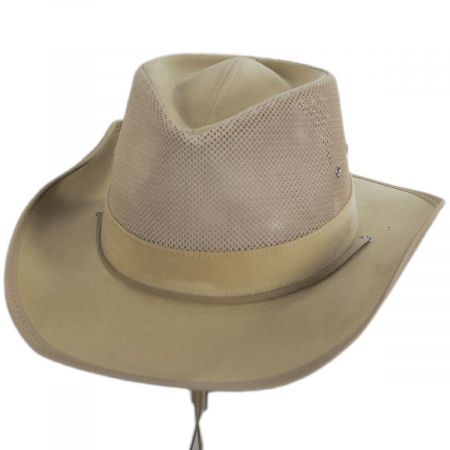 Dorfman Pacific Company Vogal Soaker Mesh Outback Hat