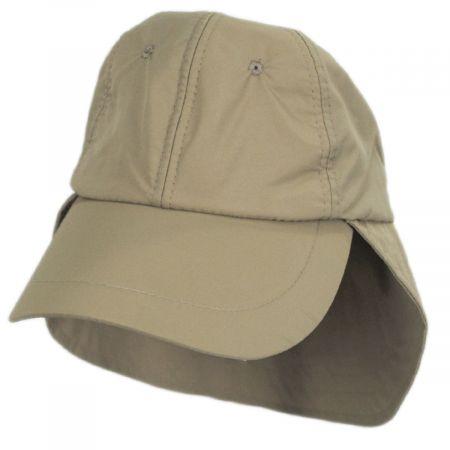 Dorfman Pacific Company Iceman HyperKewl Flap Baseball Cap