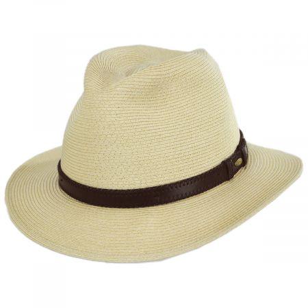 Augusta Toyo Straw Safari Fedora Hat