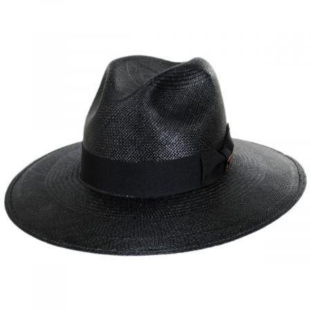 Vinard Grade 8 Panama Straw Safari Fedora Hat alternate view 5