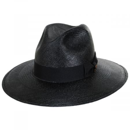 Vinard Grade 8 Panama Straw Safari Fedora Hat alternate view 9