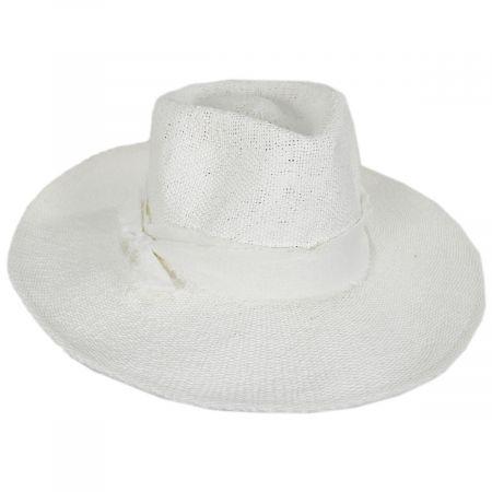 Shea Toyo Straw Fedora Hat