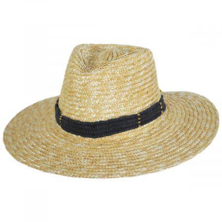 Alessia Milan Straw Fedora Hat