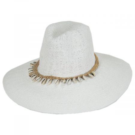 Nikki Beach Barbados Toyo Straw Fedora Hat