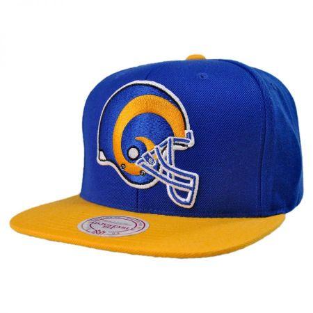 St Louis Rams NFL XL Logo 2Tone Snapback Baseball Cap