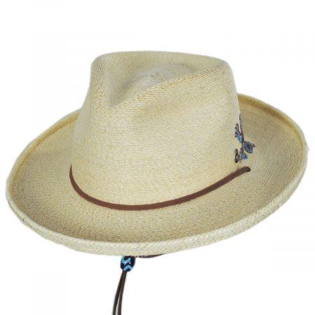 Carlos Santana Mythical Palm Straw Outback Hat