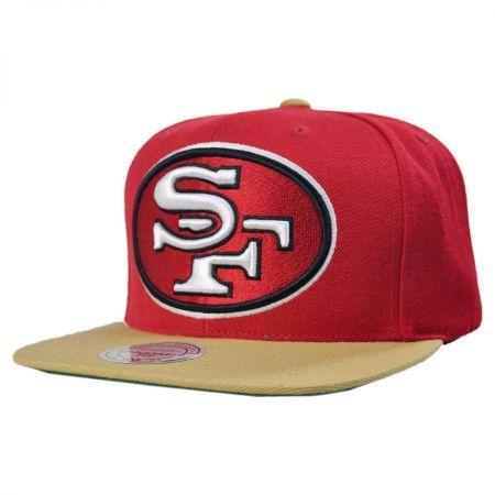 Mitchell & Ness Mitchell & Ness - San Francisco 49ers XL Logo 2Tone NFL Snapback Baseball Cap