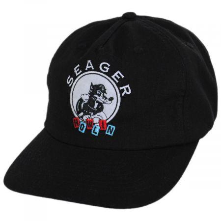 Seager Howlin' Hemp Cotton Blend Snapback Baseball Cap