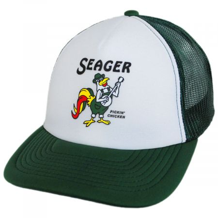 Seager Pickin' Chicken Trucker Snapback Baseball Cap