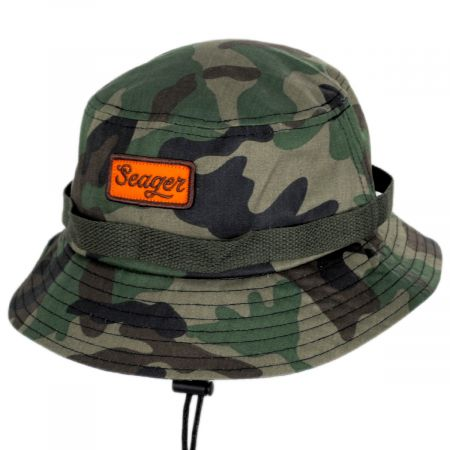 Seager The Chum Cotton Canvas Bucket Hat