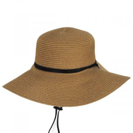 Adventure Packable Toyo Straw Blend Sun Hat