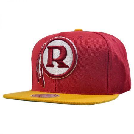 Mitchell & Ness Washington Redskins NFL XL Logo 2Tone Snapback Baseball Cap
