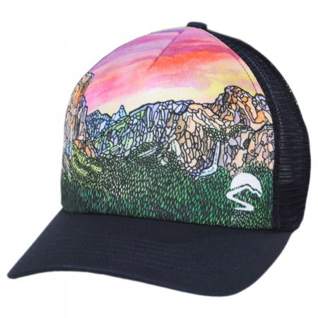 Yosemite Valley Trucker Snapback Baseball Cap