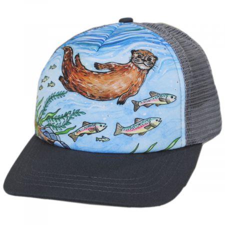 Sunday Afternoons Kids' River Otter Trucker Snapback Baseball Cap