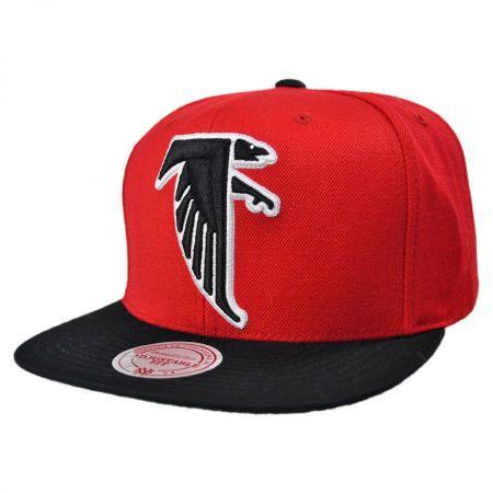 Mitchell & Ness Atlanta Falcons NFL XL Logo 2Tone NFL Snapback Baseball Cap