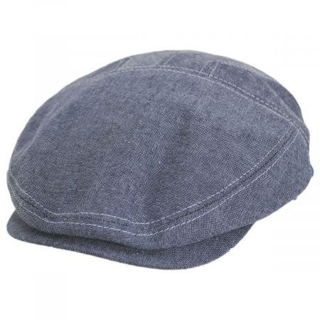 Stetson Garner Blue Cotton Ivy Cap
