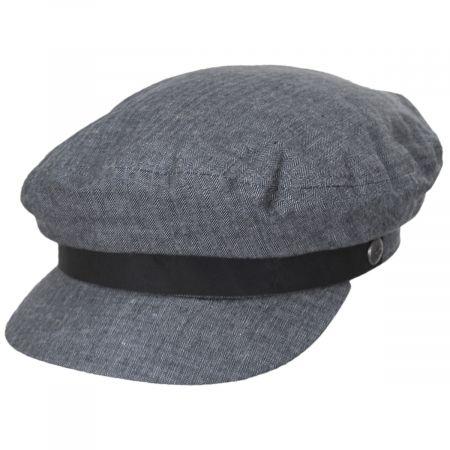 Brixton Hats Cotton Blend Fiddler Cap