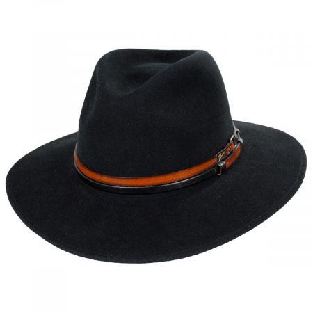 Stedman Elite Velour Wool Felt Fedora Hat alternate view 9