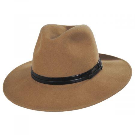 Bailey Stedman Elite Velour Wool Felt Fedora Hat