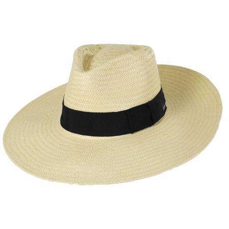 Anna Resort Toyo Straw Fedora Hat