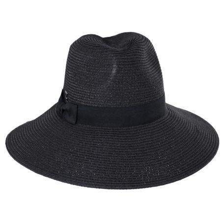 Carolyn Toyo Blend Safari Fedora Hat