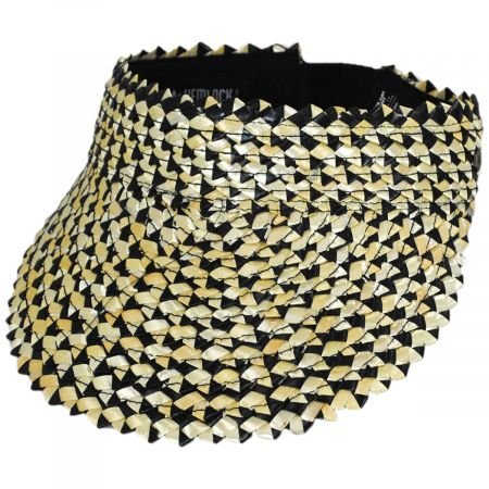 Hemlock Hat Co Capri Wheat Straw Visor