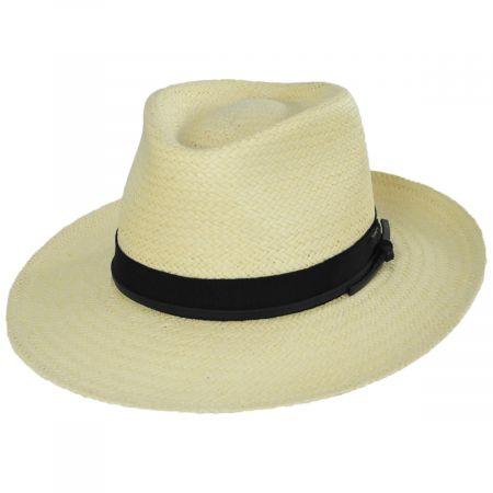 Dreyer Raindura Toyo Straw Fedora Hat