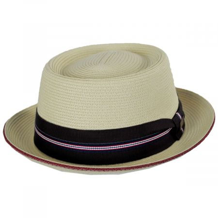 Carver Toyo Straw Blend Pork Pie Hat