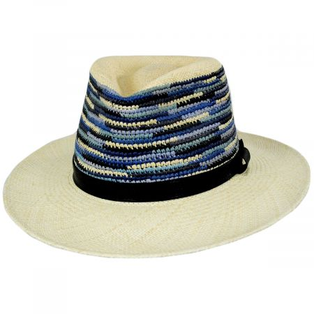 Tasmin Panama Straw Fedora Hat
