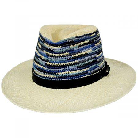 Tasmin Panama Straw Fedora Hat alternate view 11