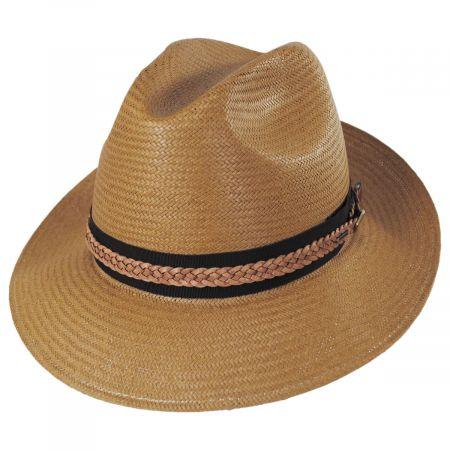 Bevers LiteStraw Fedora Hat