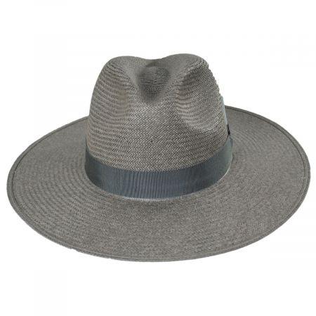Magness Shantung Straw Fedora Hat