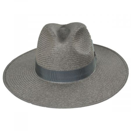 Bailey Magness Shantung Straw Fedora Hat