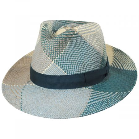 Giger Panama Straw Fedora Hat alternate view 12
