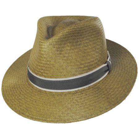 Brooks Panama Fedora Hat alternate view 16