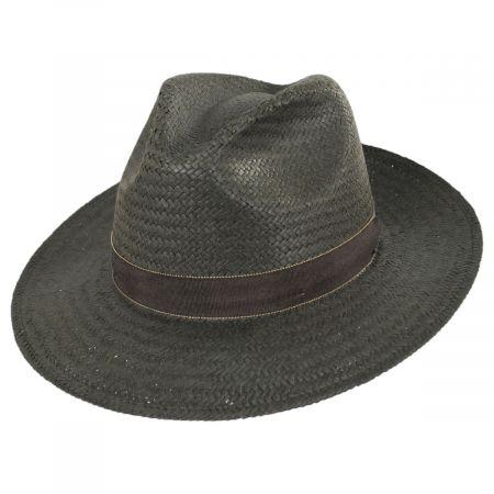 Rothney Raindura Straw Fedora Hat alternate view 5