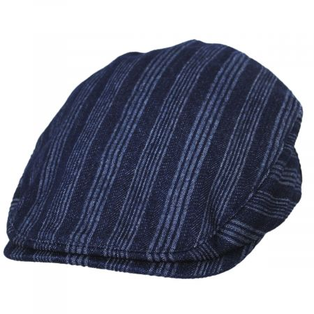 Bailey Gulick Striped Cotton Ivy Cap