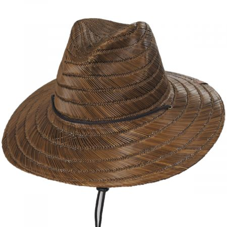 Brixton Hats Bells Toffee Rush Straw Lifeguard Hat