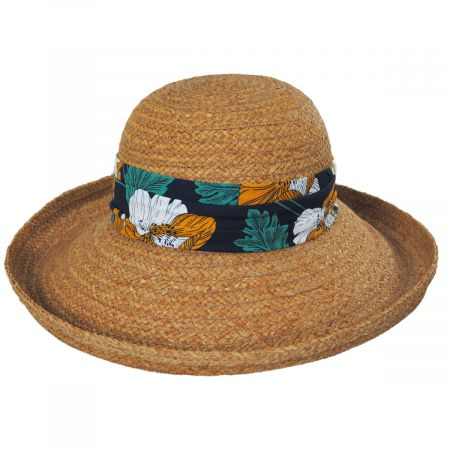 Yachting Raffia Straw Sun Hat