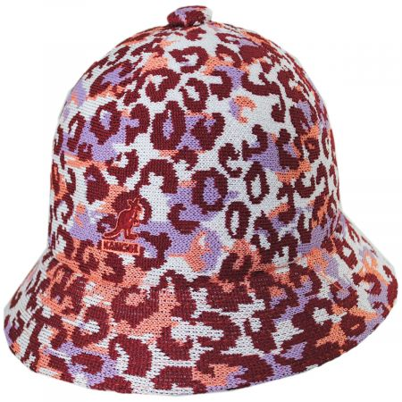 Carnival Peach Casual Tropic Bucket Hat