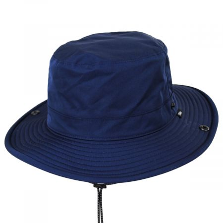 TP102 Navy Blue Waterproof Bucket Hat alternate view 16